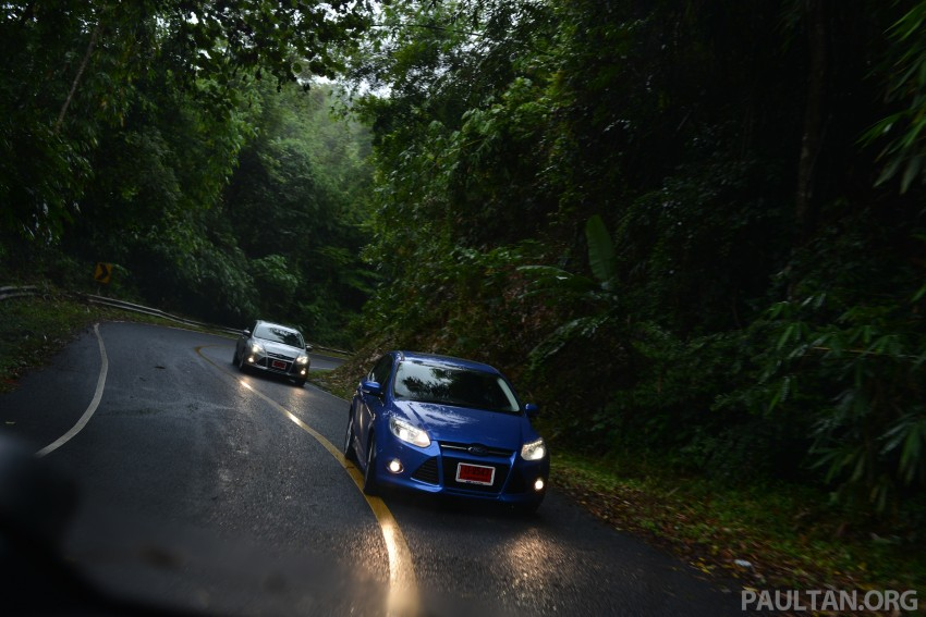 DRIVEN: New Ford Focus Hatch and Sedan in Krabi Image #118910