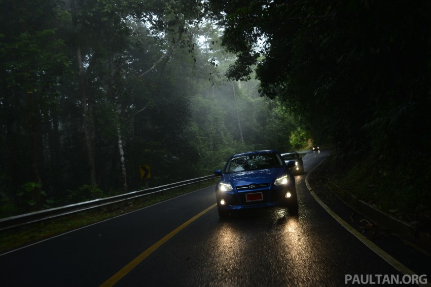 DRIVEN: New Ford Focus Hatch and Sedan in Krabi Image #118912