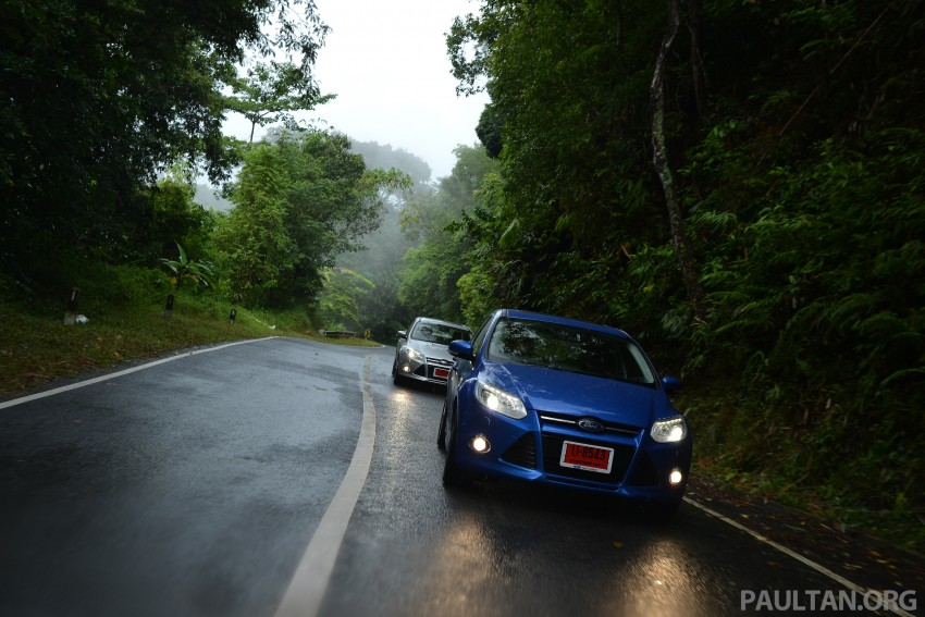 DRIVEN: New Ford Focus Hatch and Sedan in Krabi Image #118913