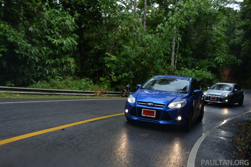 DRIVEN: New Ford Focus Hatch and Sedan in Krabi Image #118914