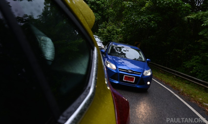 DRIVEN: New Ford Focus Hatch and Sedan in Krabi Image #118915