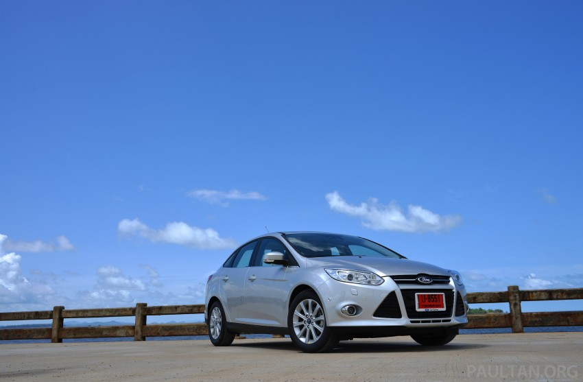 DRIVEN: New Ford Focus Hatch and Sedan in Krabi Image #118745