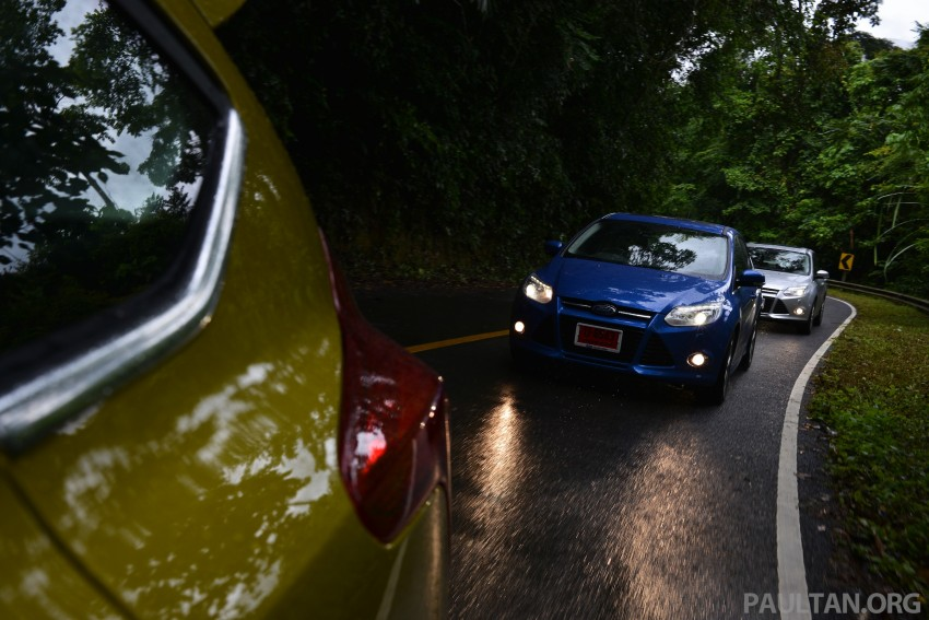 DRIVEN: New Ford Focus Hatch and Sedan in Krabi Image #118916
