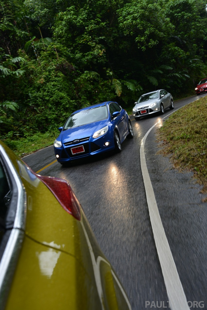 DRIVEN: New Ford Focus Hatch and Sedan in Krabi Image #118920