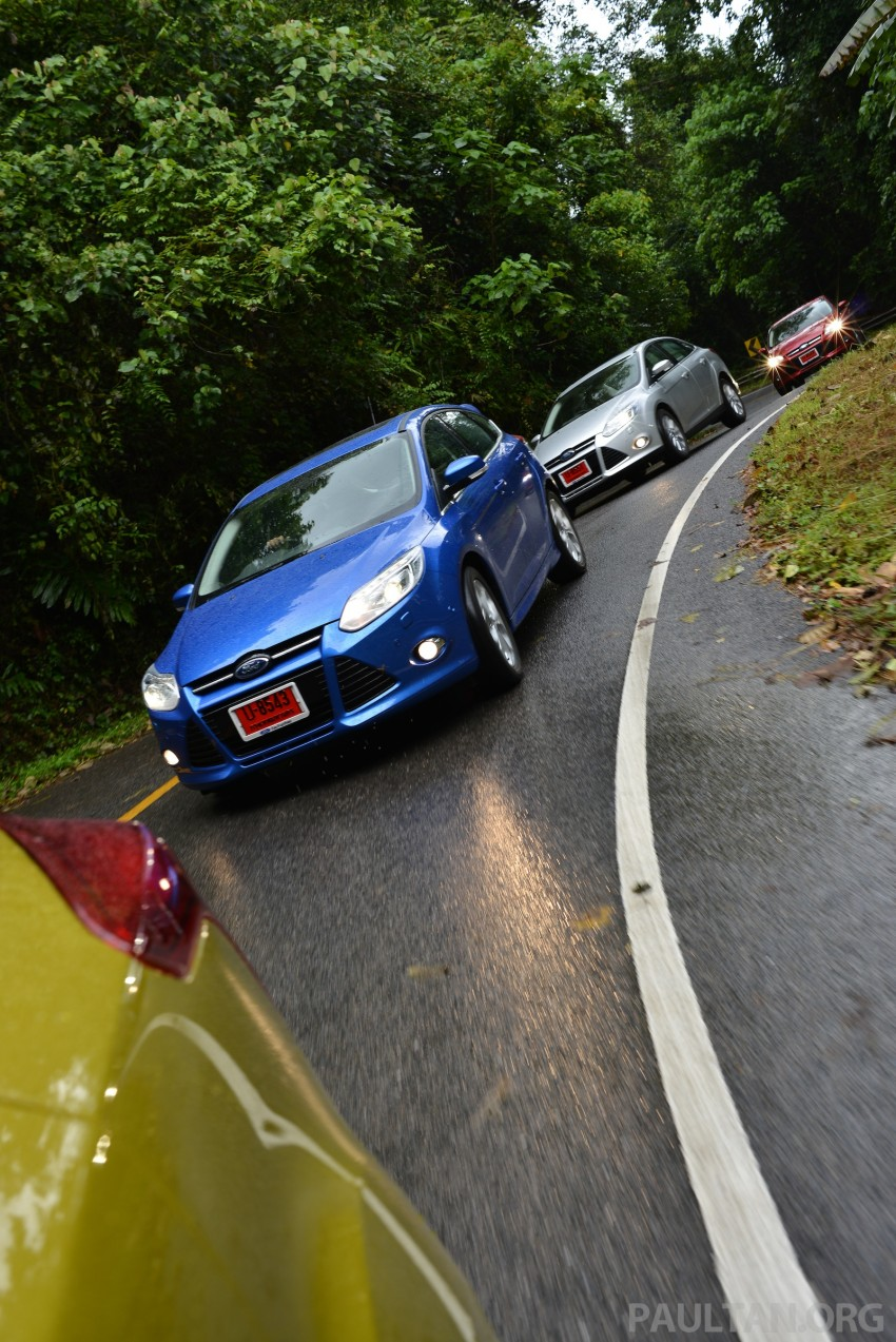 DRIVEN: New Ford Focus Hatch and Sedan in Krabi Image #118921