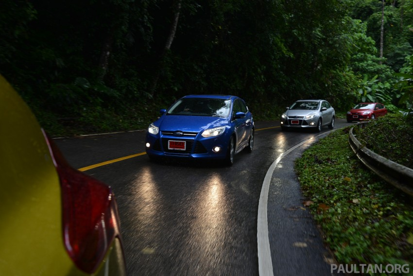 DRIVEN: New Ford Focus Hatch and Sedan in Krabi Image #118922