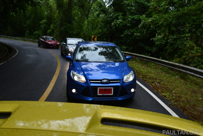 DRIVEN: New Ford Focus Hatch and Sedan in Krabi Image #118923