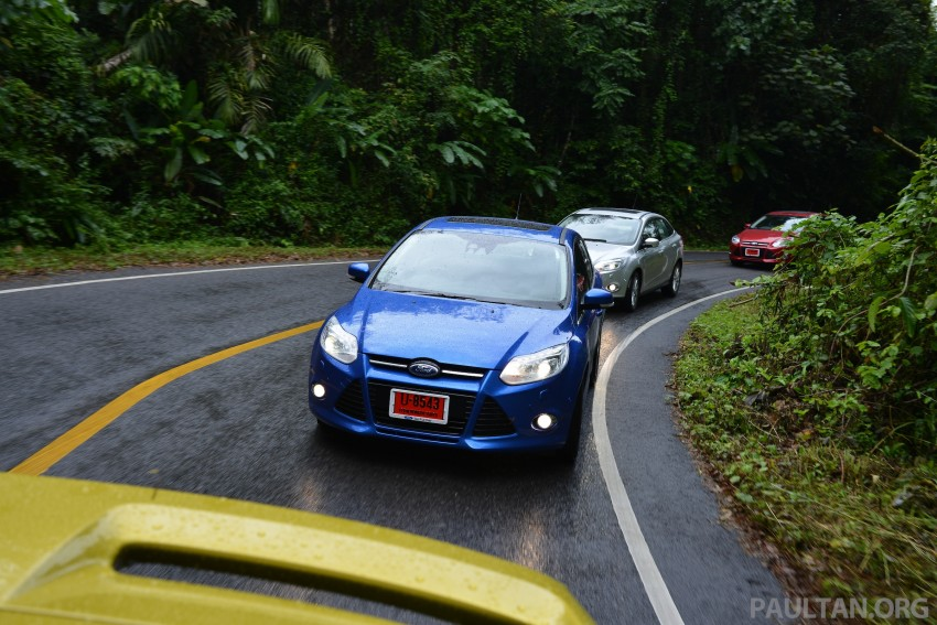 DRIVEN: New Ford Focus Hatch and Sedan in Krabi Image #118924