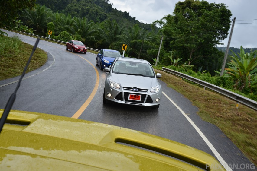DRIVEN: New Ford Focus Hatch and Sedan in Krabi Image #118925