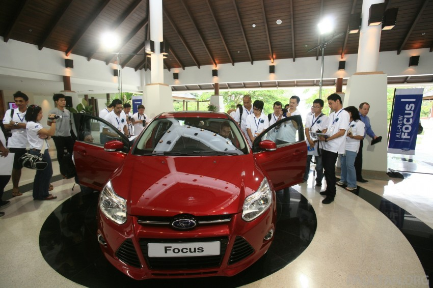 DRIVEN: New Ford Focus Hatch and Sedan in Krabi Image #118973