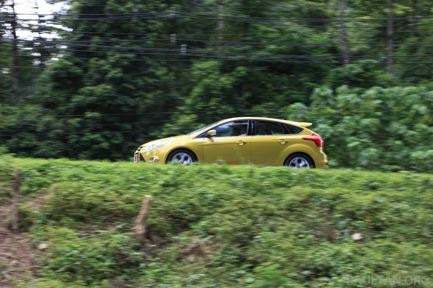 DRIVEN: New Ford Focus Hatch and Sedan in Krabi Image #118976