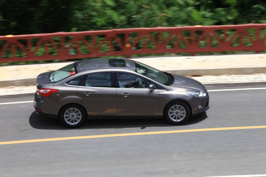 DRIVEN: New Ford Focus Hatch and Sedan in Krabi Image #118977