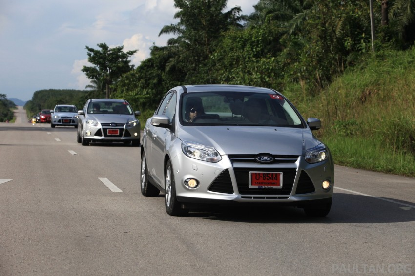 DRIVEN: New Ford Focus Hatch and Sedan in Krabi Image #118978
