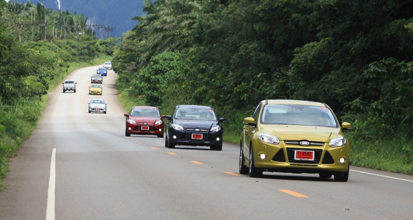 DRIVEN: New Ford Focus Hatch and Sedan in Krabi Image #118979