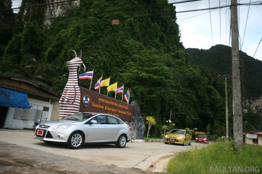 DRIVEN: New Ford Focus Hatch and Sedan in Krabi Image #119025