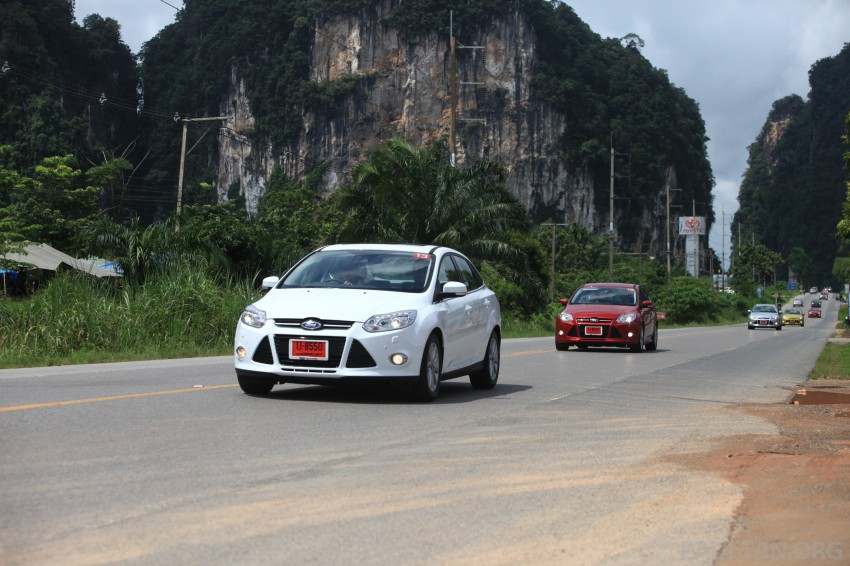 DRIVEN: New Ford Focus Hatch and Sedan in Krabi Image #119027
