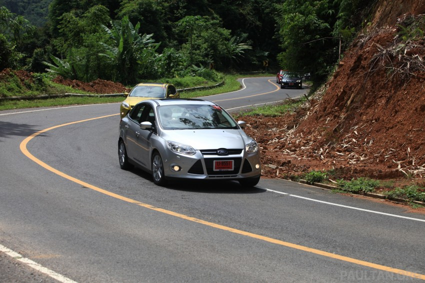 DRIVEN: New Ford Focus Hatch and Sedan in Krabi Image #119028