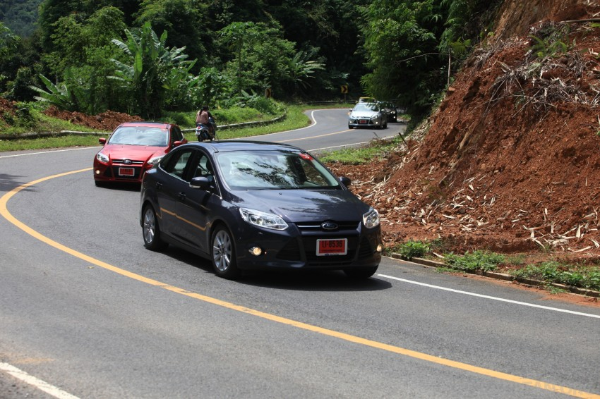 DRIVEN: New Ford Focus Hatch and Sedan in Krabi Image #119030