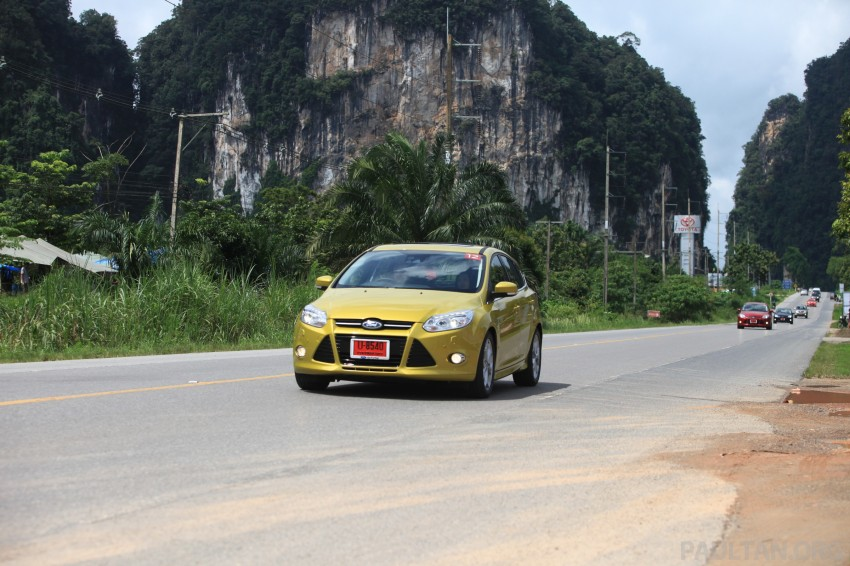 DRIVEN: New Ford Focus Hatch and Sedan in Krabi Image #119031