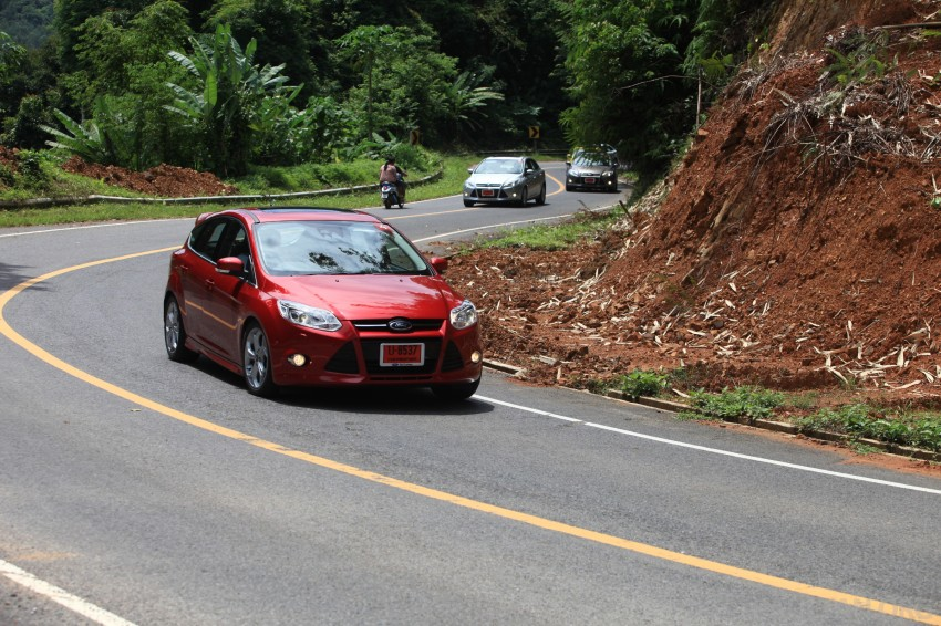 DRIVEN: New Ford Focus Hatch and Sedan in Krabi Image #119032