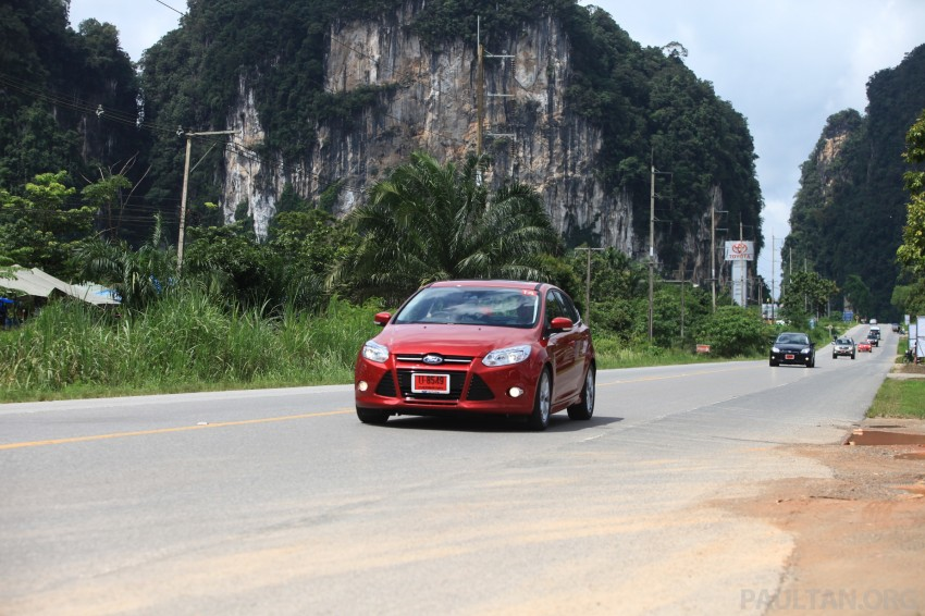 DRIVEN: New Ford Focus Hatch and Sedan in Krabi Image #119033