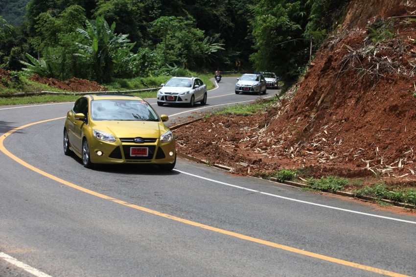 DRIVEN: New Ford Focus Hatch and Sedan in Krabi Image #119034