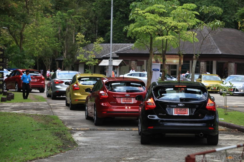 DRIVEN: New Ford Focus Hatch and Sedan in Krabi Image #119035