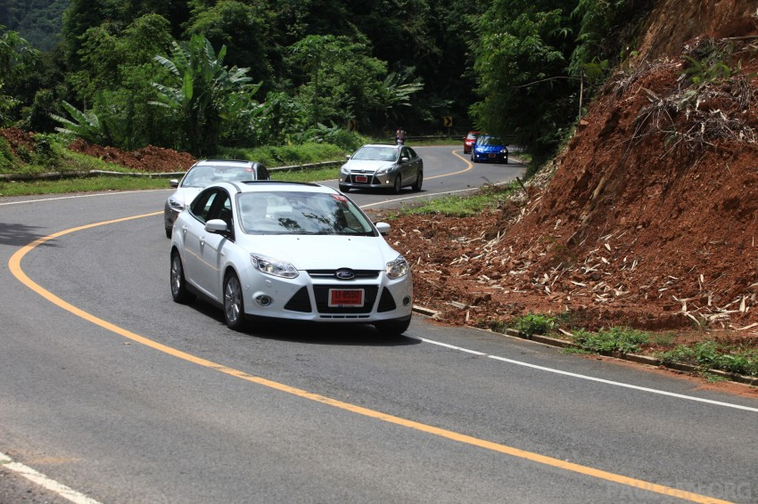 DRIVEN: New Ford Focus Hatch and Sedan in Krabi Image #119036