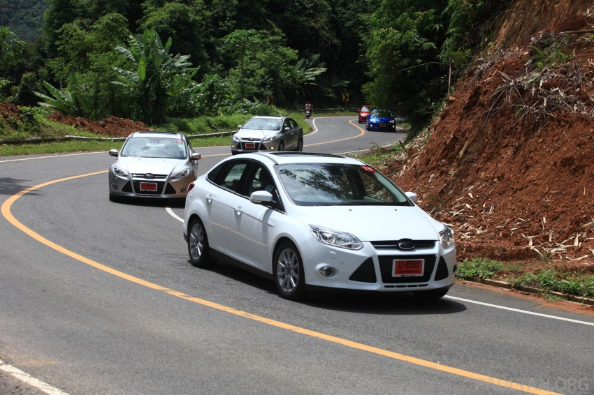 DRIVEN: New Ford Focus Hatch and Sedan in Krabi Image #119037