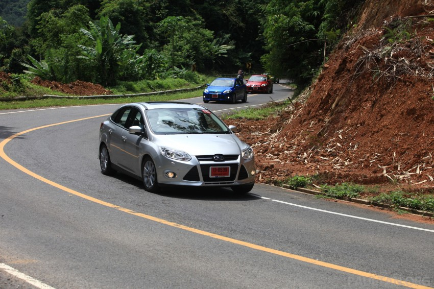 DRIVEN: New Ford Focus Hatch and Sedan in Krabi Image #119038