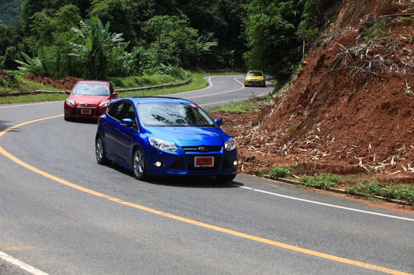 DRIVEN: New Ford Focus Hatch and Sedan in Krabi Image #119039