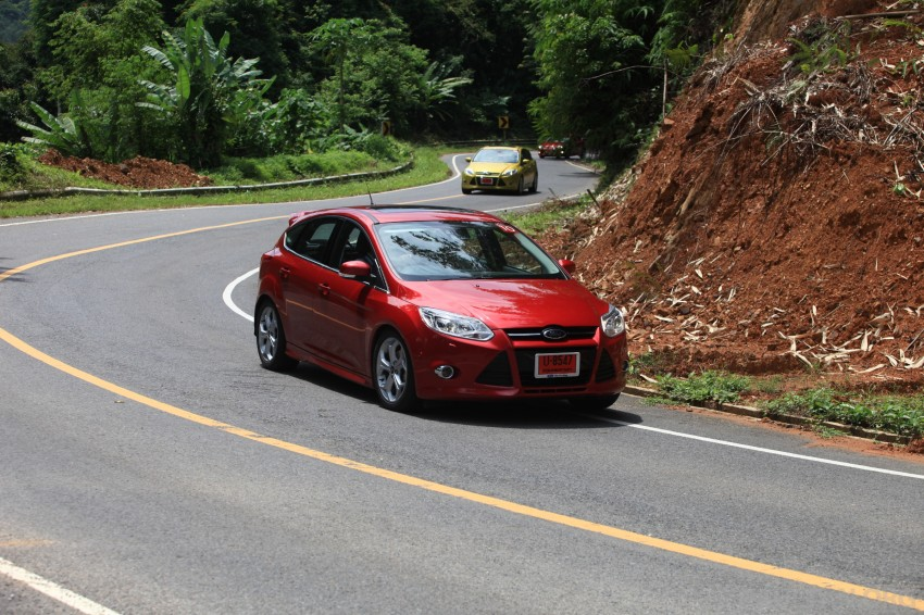 DRIVEN: New Ford Focus Hatch and Sedan in Krabi Image #119040