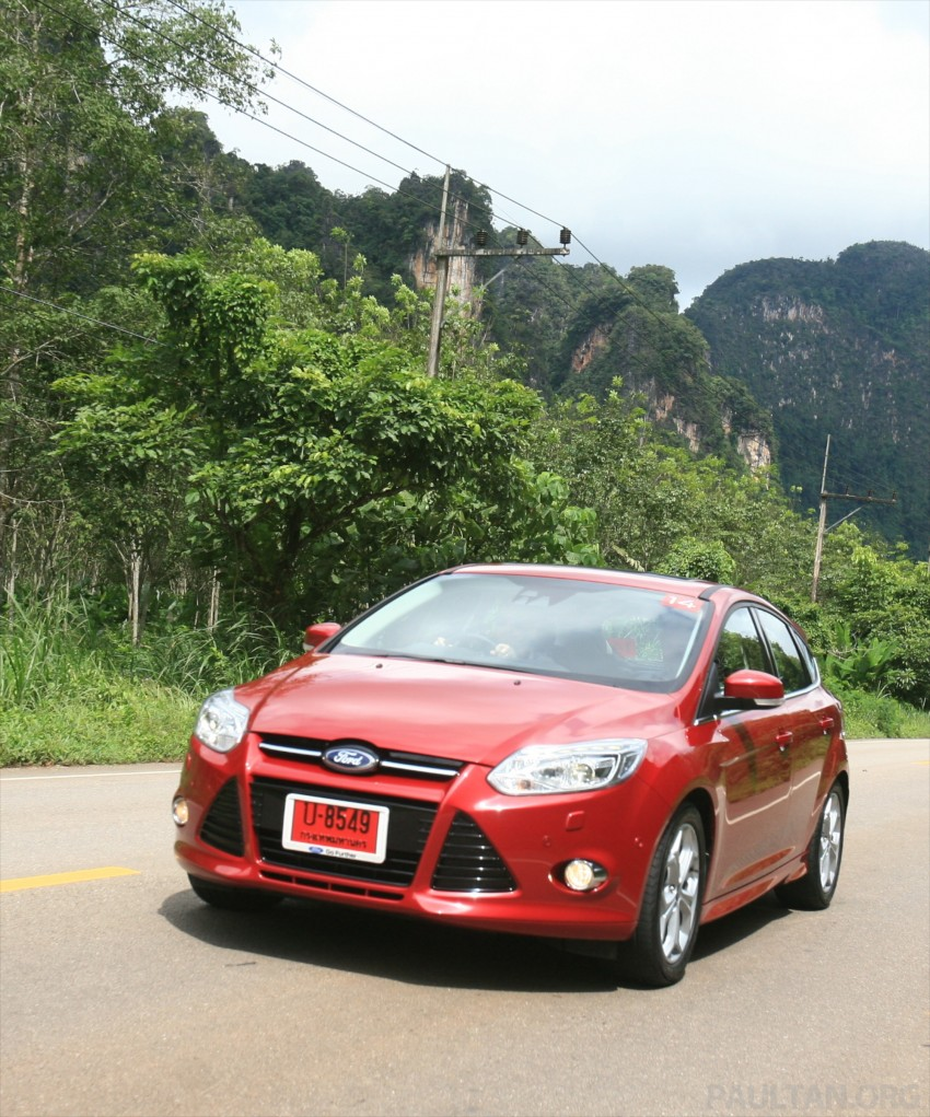 DRIVEN: New Ford Focus Hatch and Sedan in Krabi Image #118980