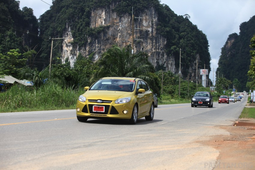 DRIVEN: New Ford Focus Hatch and Sedan in Krabi Image #118981