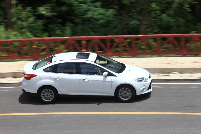 DRIVEN: New Ford Focus Hatch and Sedan in Krabi Image #118983
