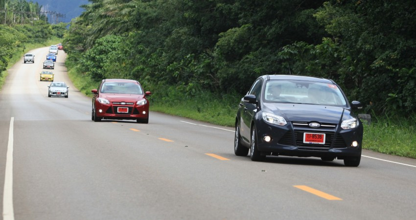 DRIVEN: New Ford Focus Hatch and Sedan in Krabi Image #118985