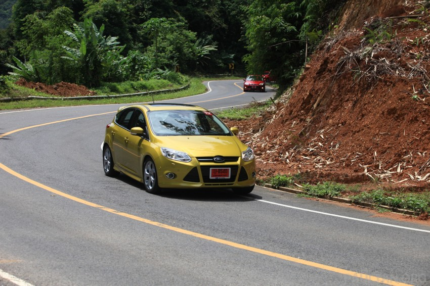DRIVEN: New Ford Focus Hatch and Sedan in Krabi Image #119041