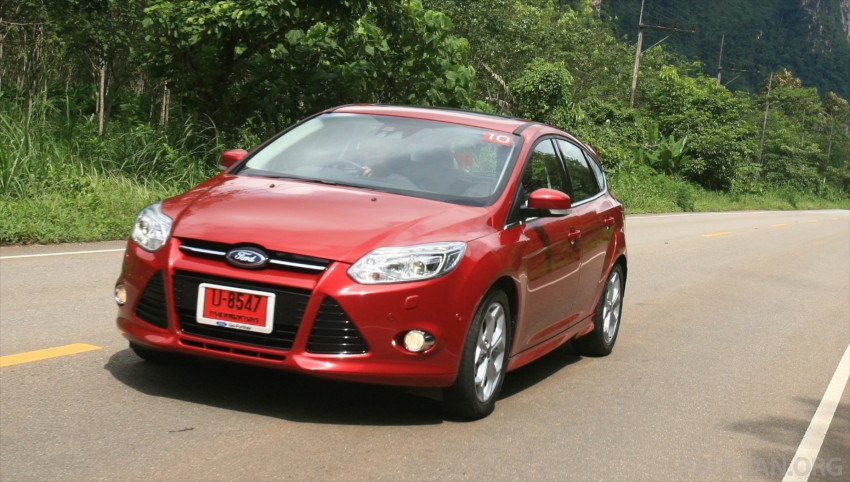 DRIVEN: New Ford Focus Hatch and Sedan in Krabi Image #118986