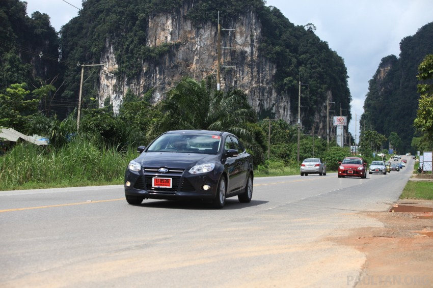 DRIVEN: New Ford Focus Hatch and Sedan in Krabi Image #118987