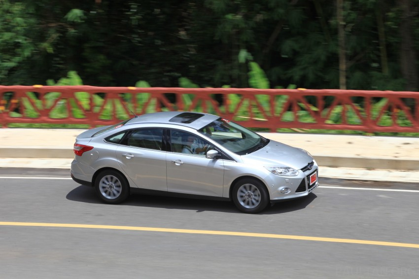 DRIVEN: New Ford Focus Hatch and Sedan in Krabi Image #118989