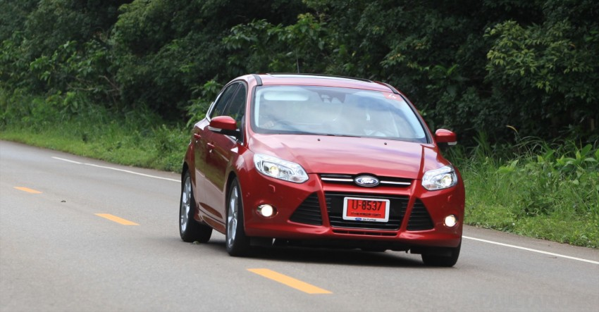 DRIVEN: New Ford Focus Hatch and Sedan in Krabi Image #118991