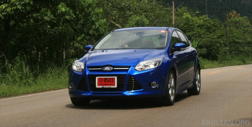 DRIVEN: New Ford Focus Hatch and Sedan in Krabi Image #118992
