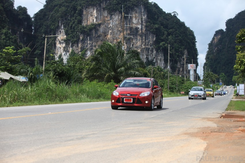 DRIVEN: New Ford Focus Hatch and Sedan in Krabi Image #118993