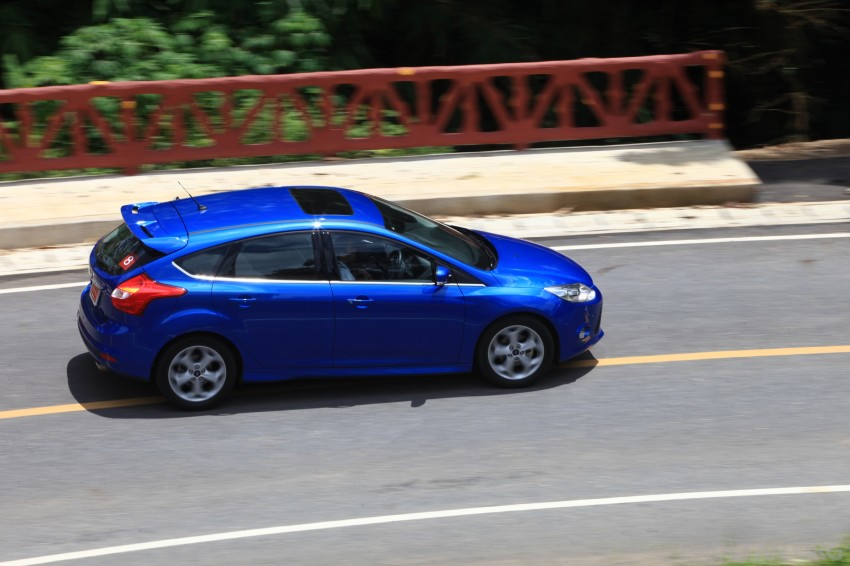 DRIVEN: New Ford Focus Hatch and Sedan in Krabi Image #118995