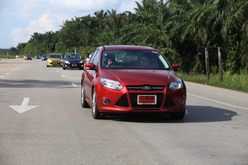 DRIVEN: New Ford Focus Hatch and Sedan in Krabi Image #118996