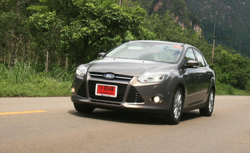 DRIVEN: New Ford Focus Hatch and Sedan in Krabi Image #118998