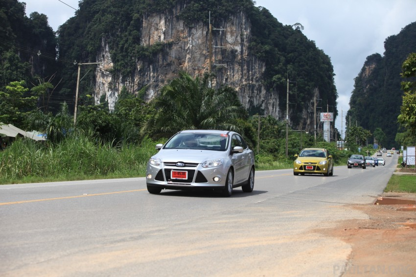DRIVEN: New Ford Focus Hatch and Sedan in Krabi Image #119000