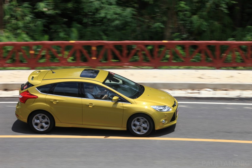 DRIVEN: New Ford Focus Hatch and Sedan in Krabi Image #119002