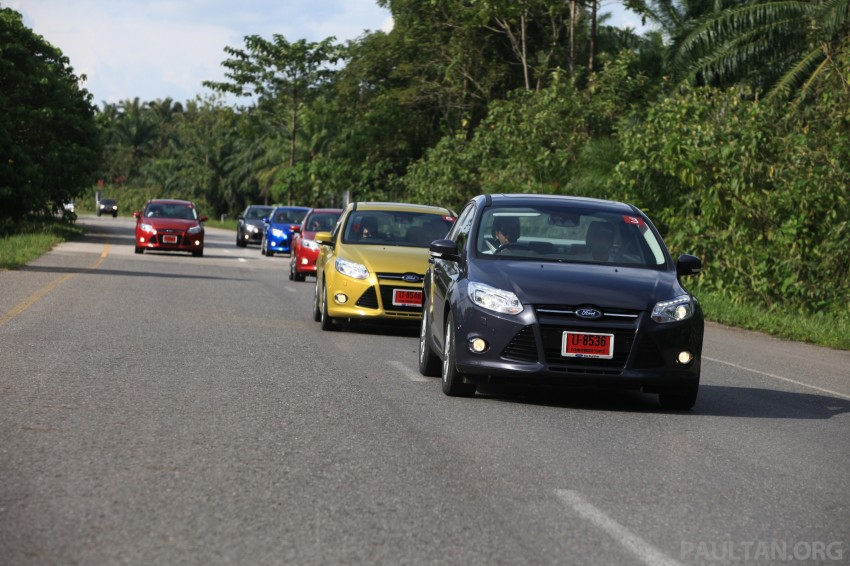 DRIVEN: New Ford Focus Hatch and Sedan in Krabi Image #119003
