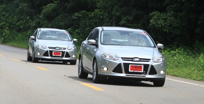 DRIVEN: New Ford Focus Hatch and Sedan in Krabi Image #119004